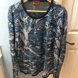 Missoni Linen Blue Sweater